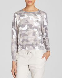 DKNY Pure Camo Print Pullover - Lyst
