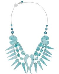 Tatty Devine - Sea Shell Swirl Necklace - Lyst