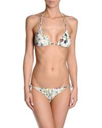 Gucci White Bikini - Lyst