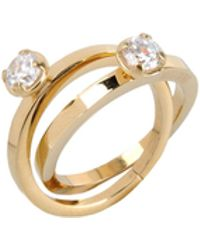 Moschino Cheap & Chic Ring - Lyst