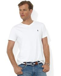 Polo Ralph Lauren Core Medium-Fit V-Neck Cotton Jersey T-Shirt - Lyst