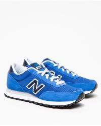 New Balance 501 in Bluenavy - Lyst