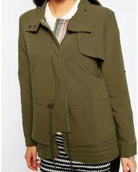 Greylin - Twofer Drawstring Jacket - Lyst