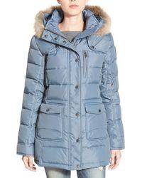 Pajar - Serena Fur-Trimmed Down Parka Jacket - Lyst