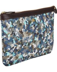 Mismo - Camouflagepattern Large Ms Pouch - Lyst