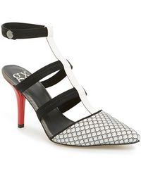 Gx By Gwen Stefani - 'marble' Pointy Toe Pump - Lyst