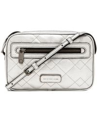 Marc By Marc Jacobs Metallic Quilted Sally - Lyst
