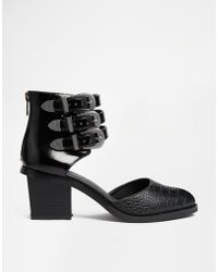 Asos Ragan Two Part Ankle Boots - Lyst