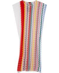 Missoni Fishnet Geo Stripe Long Dress - Lyst