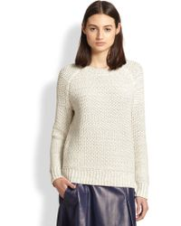 Vince Chunky-Knit Sweater - Lyst