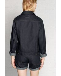 Rag & Bone Rolled Selvage Jacket blue - Lyst