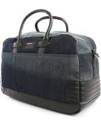 Diesel Urban Jack Denim Weekend Holdall Bag - Lyst