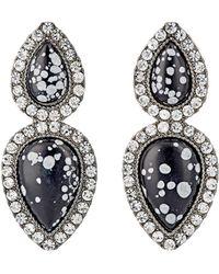 Cocoa Jewelry - Women's Iona Double-drop Earrings - Lyst