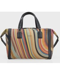 Paul Smith   Women'S Swirl Print Calf Leather 'Ziggy' Bag   Lyst
