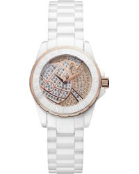 Vivienne Westwood Vv088srswh Time Machine Stainless Steel Watch - Lyst
