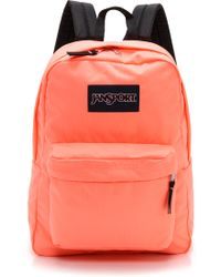 Jansport Classic Superbreak Backpack  Coral Peaches - Lyst