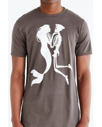 Design By Humans Lethal Love Tee - Gray