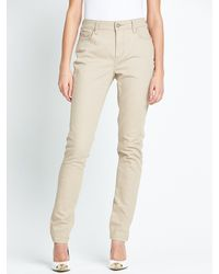 Not Your Daughter's Jeans Straight Leg Embroidered Pocket Jeans - Lyst
