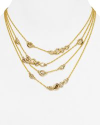 "Alexis Bittar Elements Multi Strand Necklace, 16"" - Lyst"