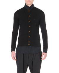 Vivienne Westwood Shirt-underlay Knitted Cardigan - For Men - Lyst