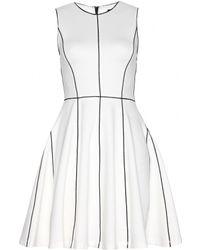 Alice + Olivia Stretch-Jersey Dress - Lyst