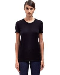 Acne Studios Womens Bliss Classic Crew Neck T-shirt - Lyst