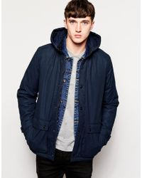 Lyle & Scott Insulated Jacket blue - Lyst