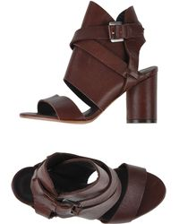 Surface To Air Sandals brown - Lyst