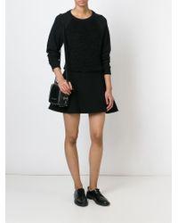 Diesel Black Gold - Zip-Detail Leather Shoulder Bag - Lyst