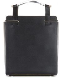 Charlotte Olympia Mytheresacom Limited Exclusive Gable Leather Tote - Lyst