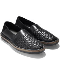 Cole Haan & Todd Snyder Lewis Woven Loafer In Black - Lyst