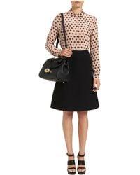 Mulberry Black Lizzie Skirt - Lyst