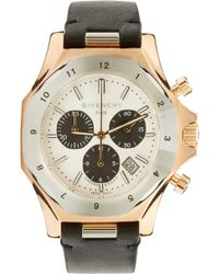 Givenchy | Silver And Rose Gold Five Watch | Lyst