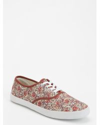 Urban Outfitters - Printed Plimsoll Sneaker - Lyst