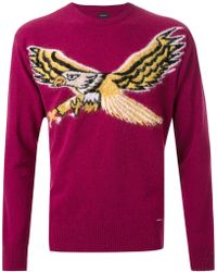 DIESEL | Intarsia Eagle Sweater | Lyst