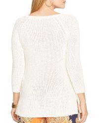Ralph Lauren Lauren Plus Raglan Sleeve Sweater - Lyst