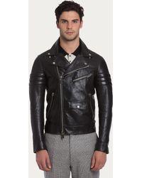 Bally Biker Jacket - Lyst