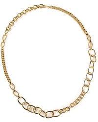 Gerard Yosca Chain Necklace - Metallic