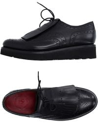 Grenson   black Lace-up Shoes   Lyst