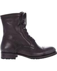 NDC Gianni Combat Boots black - Lyst