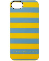 Marc By Marc Jacobs Stripe Iphone Case - Lyst