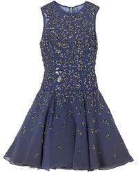 Rebecca Taylor Beaded Dress - Lyst