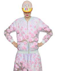 Manish Arora Embellished Crepe & Organza Jacket - Lyst
