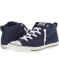 Converse Chuck Taylor All Star Street Color Pop Canvas Mid - Lyst