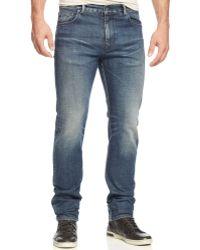 Wesc Eddy Slimfit Wellusedwash Stretch Jeans - Lyst
