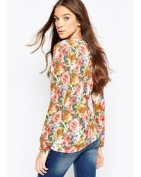 Madam Rage - Floral Print Long Sleeve Top - Lyst