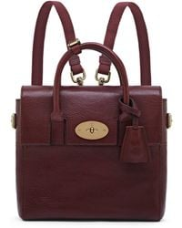 Mulberry - Cara Delevingne Mini Convertible Leather Satchel - Lyst