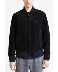 Obey Downtown Suede Jacket - Lyst