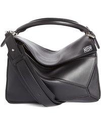 Loewe | 'mini Puzzle' Calfskin Leather Bag | Lyst