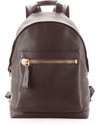 Tom Ford Zippocket Pebbled Backpack - Lyst